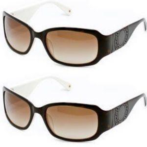 Coach Lexi Tortoise Sunglasses with Case & Cloth